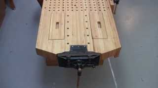 Foster Workbench - Unique Installation Configuration Of Emmert Pattern Makers Vise