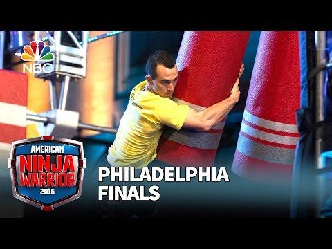 Joe Moravsky at the Philadelphia Finals - American Ninja Warrior 2016