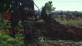 Минитрактор Беларус МТЗ 152 с отвалом