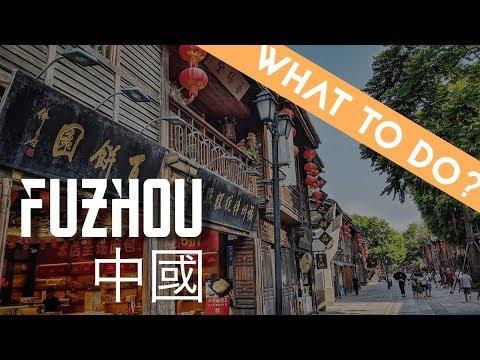 4 Things to do in Fuzhou 福州, 福建 | China Travel Vlog
