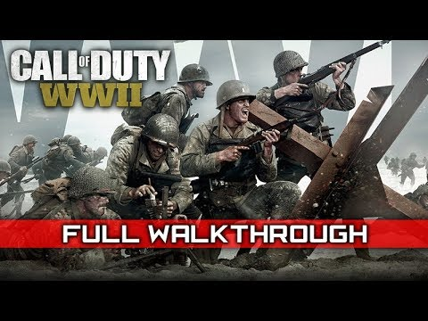 CALL OF DUTY: WW2 – Full Campaign Gameplay Walkthrough (No Commentary) 1080p HD