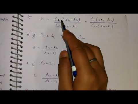 Effectiveness and NTU ||part-7||unit-4||HMT