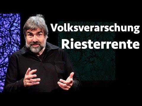 Mit Riesterrente in die Altersarmut    Volker Pispers