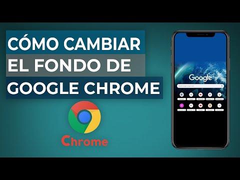 Cómo Cambiar o Personalizar la Imagen de Fondo en Google Chrome