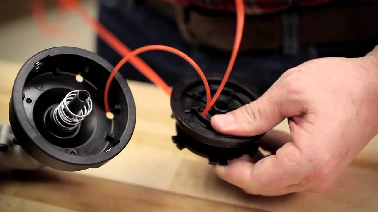 String Trimmer Line Installation Instructions  YouTube