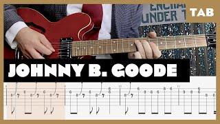 Johnny B. Goode Chuck Berry Cover | Guitar Tab | Lesson | Tutorial