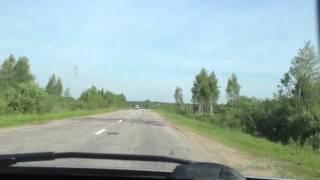 Дорога из Углича в Мышкин