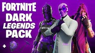 Le nouveau pack DARK LEGENDS à Fortnite.