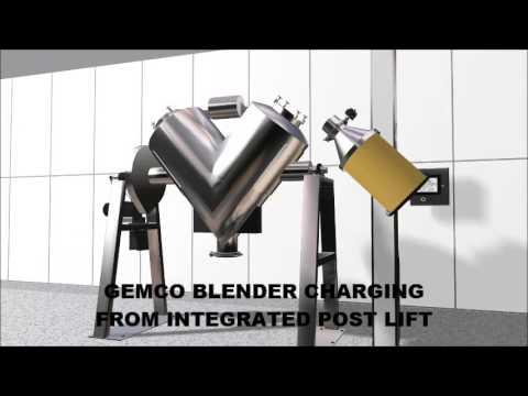 Post Material Handling solutions for Gemco Blenders