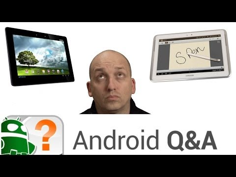 Best large tablet, possibilities of flexible displays, and more – Android Q&A