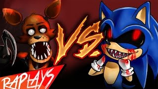 Repeat youtube video FOXY VS SONIC.EXE | EPIC BATTLE | KRONNO ZOMBER | ( Videoclip Oficial )