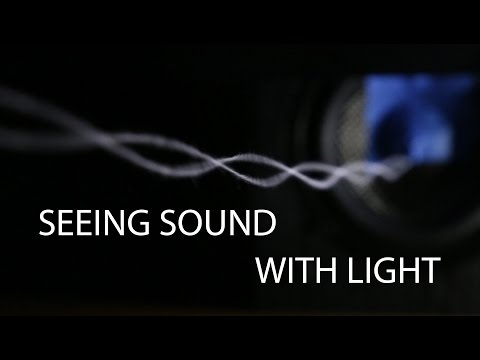 Seeing sound with light: strobes and resonance