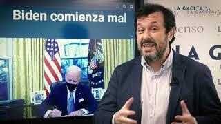 Biden comienza mal. Editorial de La Gaceta de la Iberosfera (21/01/2021)
