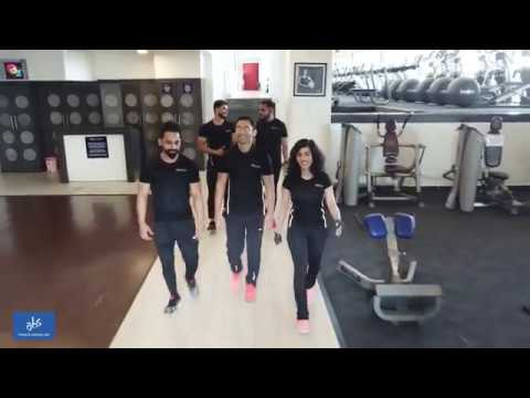 Check the Amazing ABS Fitness & Wellness Club | ICC Tower SB Road | 4k Drone Footage