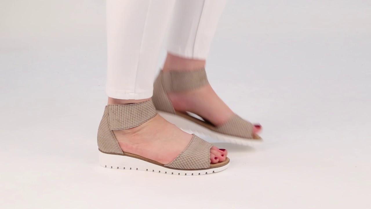 ab893232d4db Gabor Penny Silk Cobra Womens Sandals - YouTube