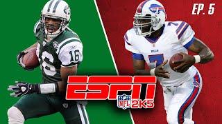 ESPN NFL 2K5   Bills (3-0) vs. Jets (3-0)   Week 5   EP. 5