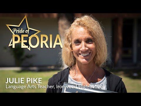2021 Pride of Peoria Prize Patrol: Julie Pike, Ironwood High School
