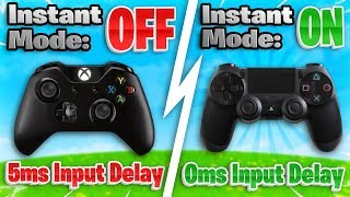 4 SIMPLE Ways To DECREASE Controller Input Lag! (Controller Fortnite - PS4 + Xbox)