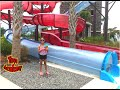 Family Swim Fun at the Water Park Splash Lagoons Water Slides with Lalaloopsy Mermaid Doll