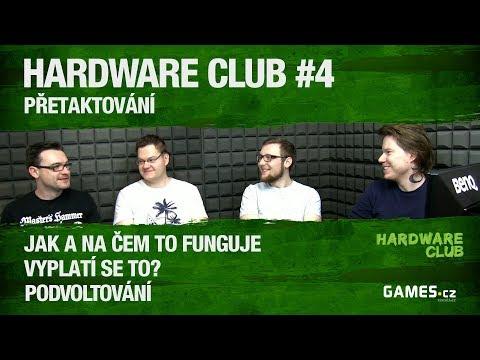 Hardware Club  #4: Přetaktování
