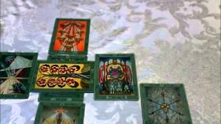 Thoth Deck Celtic Cross Tarot Layout
