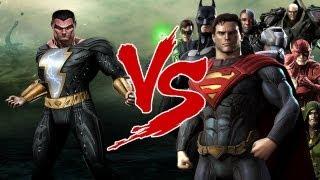 Black Adam vs ALL