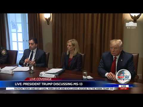 FULL EVENT: President Trump Meets With Law Enforcement to Discuss MS-13
