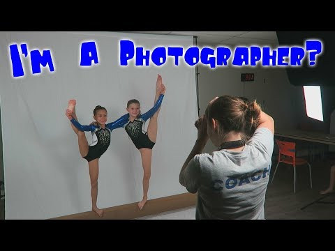 Ultimate Gymnastics Team Photo Shoot| Rachel Marie