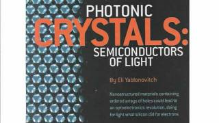 Photonic Crystals and their Applications
