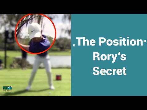 """Rory Mcilroy's secret Move helps get him into """"the Position""""."""