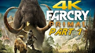 Far Cry Primal PC - Gameplay Walkthrough Part 1 - Prologue [4K 60FPS ULTRA]