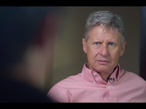 Gary Johnson on Trump, the Presidential Election, and Life as a Pot Company CEO