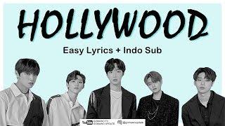 AB6IX  - HOLLYWOOD Easy Lyrics by GOMAWO [Indo Sub]