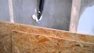 пеноизол - утепление гаража под обшивку OSB плитой.(, 2016-02-07T17:23:39.000Z)