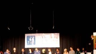 Iqbal Theba, Max Adler, Dean Geyer, Dot Marie Jones intro - YSF Biggest Show 2012