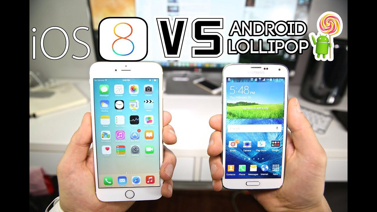 IPHONE 5 VS SAMSUNG GALAXY S5