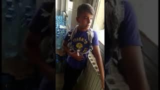 اجمل صوت طفل يغني عراقي ساعه وتغيب الشمس 2018