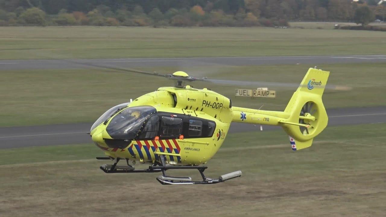 erster offizieller start traumahelikopter leeuwarden h 145. Black Bedroom Furniture Sets. Home Design Ideas