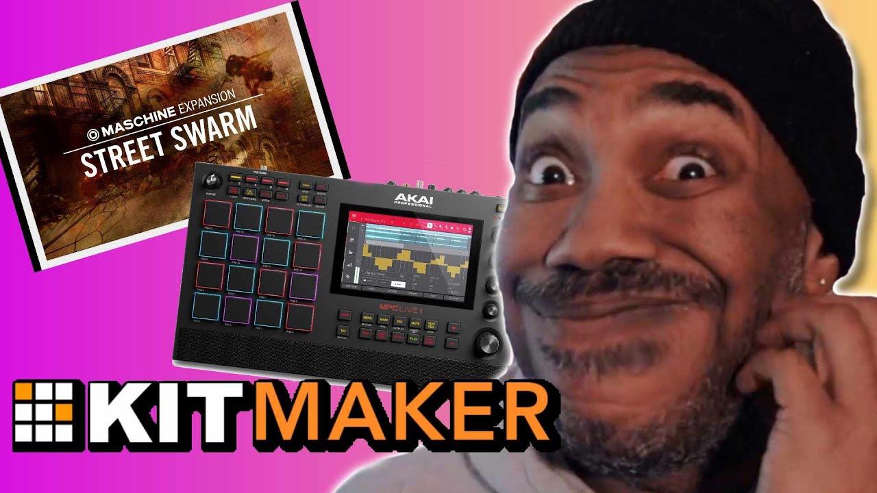 Maschine Expansions Sound Better on AKAI MPC Live? Kit Maker 2.0 Update