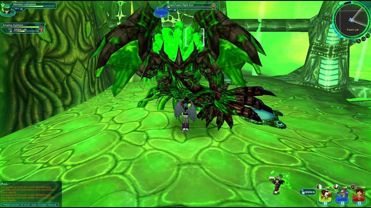 Fusionfall  Killing Lord Fuse