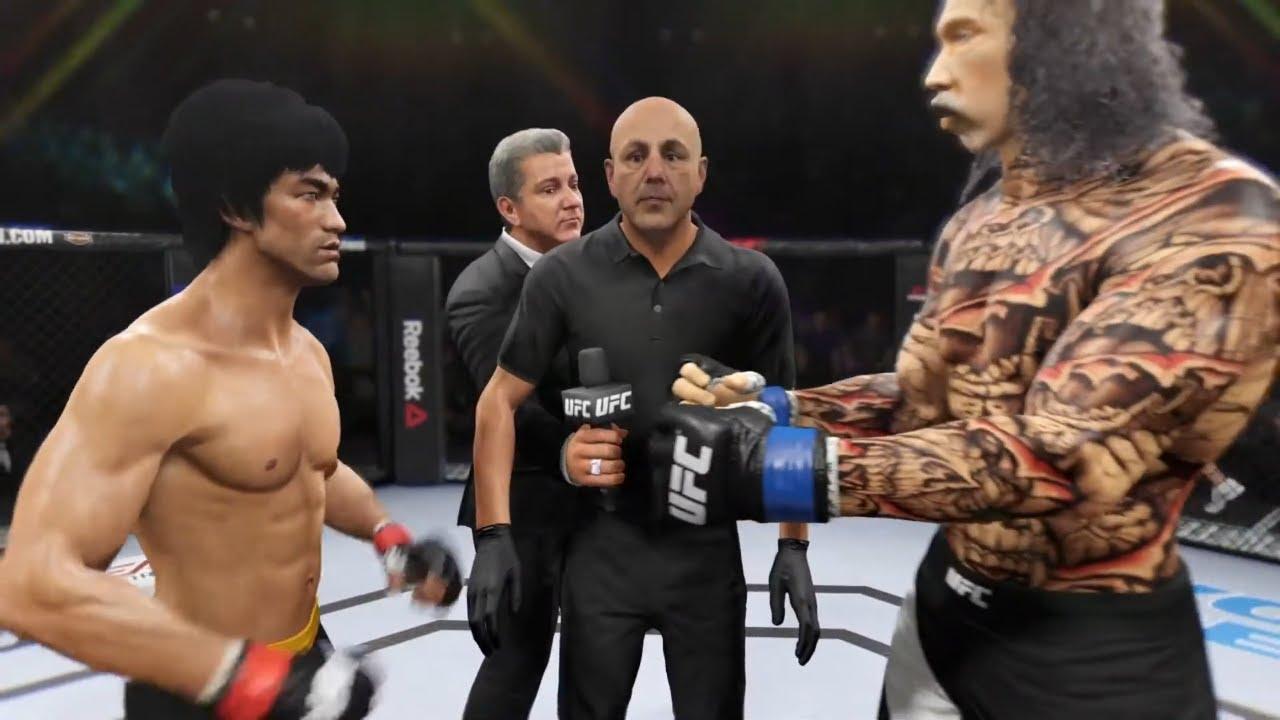Bruce Lee vs. Don Quijote - EA Sports UFC 2 - Rematch ?