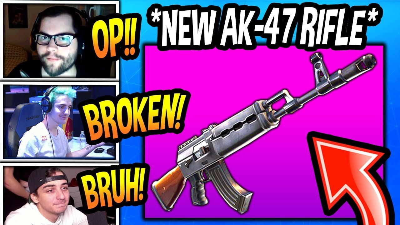 streamers-first-kills-with-new-ak-47-heavy-assault-rifle-broken-fortnite-epic-moments