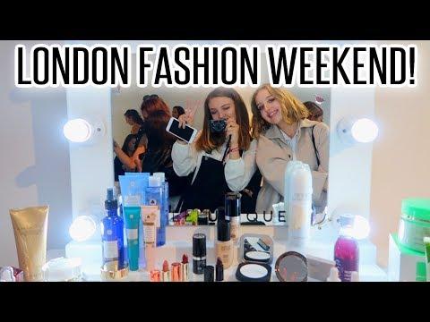 LONDON FASHION WEEKEND WITH YOUTUBE PALS!   BeautySpectrum