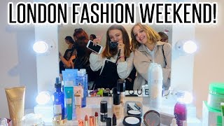 LONDON FASHION WEEKEND WITH YOUTUBE PALS! | BeautySpectrum