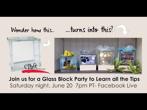 Craft Warehouse Youtube