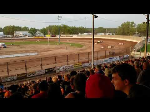 Dirt king late model heat race