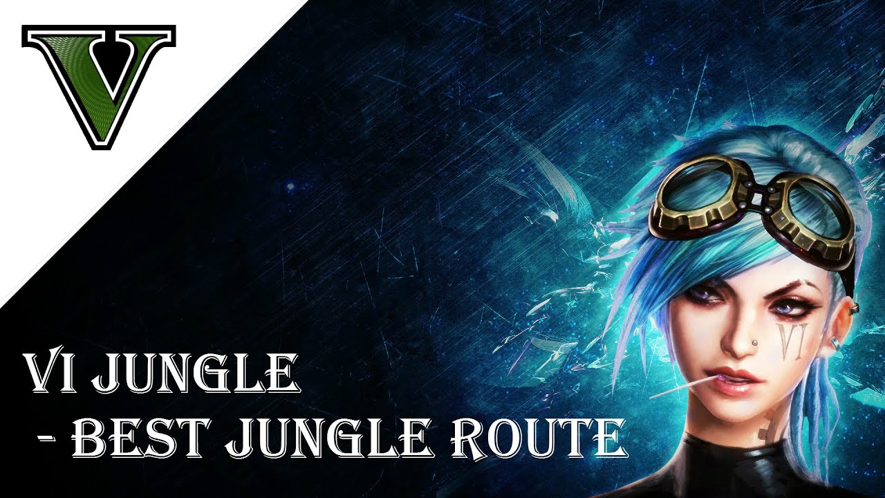how to get to lush jungle from route 5