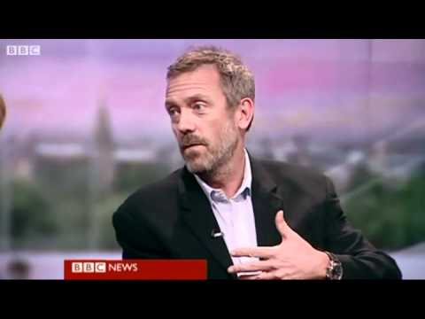 BBC News - Hugh Laurie - 2011-11-16, rus subs