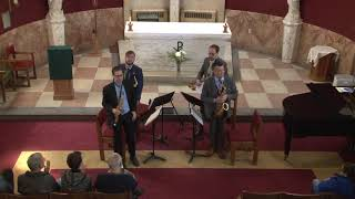 Arts on Bergen Presents: The Manhattan Saxophone Quartet