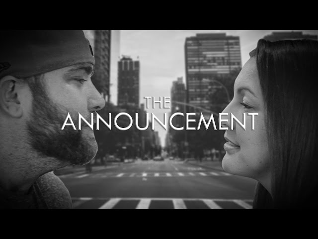 Another Pregnancy Announcement Movie Trailer (for Levi)